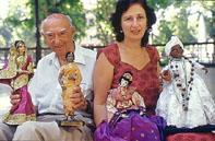 Teresa so svoim otcom v Zagrebe, 2001, Zrinjevac