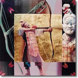 Charles Billich: Archer (Bing Ma Yong, China) (from www.asama.org, see the above slide show)