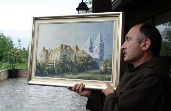 Fr. Mirko Filipovic, Plehan Monastery as it was until 1992