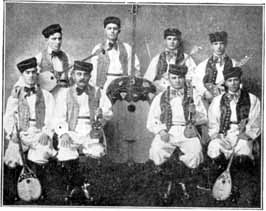 The Tamburica Croatian Orchestra, 1887