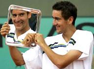 Marin Cilic, winner of Roland Garros, 2005 (AP Photo, Francois Mori)
