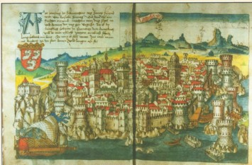 Konrad von Grünemberg, Dubrovnik - the most important city in Croatian Kingdom, 1486