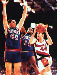 Drazen Petrovic in NBA league
