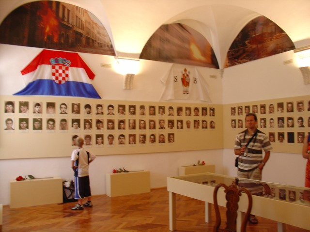 Memorial room of Croatian defenders of Dubrovnik