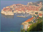 View to Dubrovnik (photo by G. Prakash)