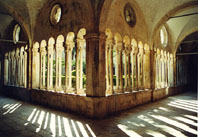 Interior of Franciscan monastery in Dubrovnik (photo by Najka Mirkovic)