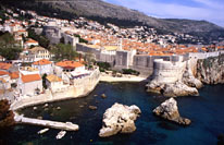 Panorama of Dubrovnik from the Lovrijenac fortress (photo by Najka Mirkovic)