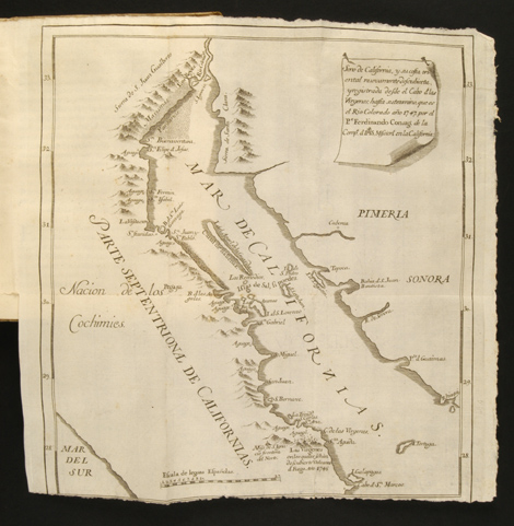 Ferdinand Konscak: Map of Baja California
