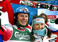 Ivica and Janica Kostelic