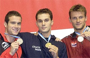 Gordan Kozulj, gold medal in Berlin, 2002