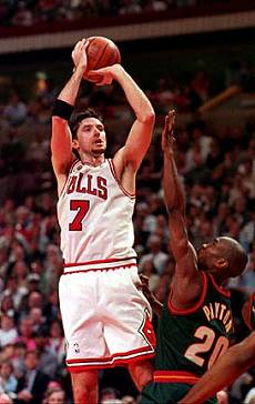 Toni Kukoc in NBA with Chicago Bulls