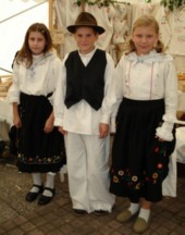 Marina Cingesar, Zeljko Sever and Ivana Komes, Visnjica, north of Zagreb