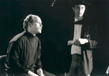 John Malkovich and Nenad Bach