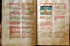 Croatian glagolitic missal, 15th century,