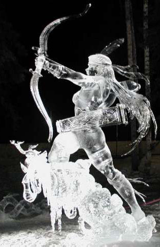 Tajana Raukar: Graceful Predators (world champion in ice carving)
