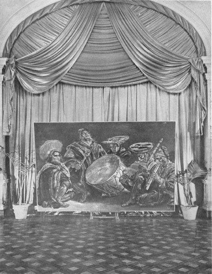 Ritmo Andino, exhibition in the City Hall of Lima, 1954