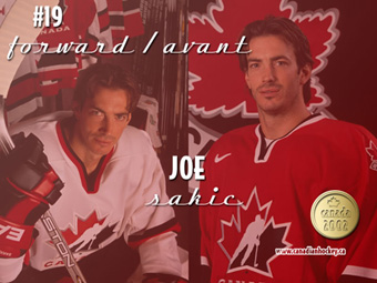 Joe Sakic (photo from www.canadianhockey.ca)