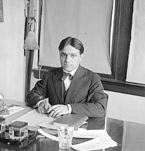 Fiorello LaGuardia in c. 1910.