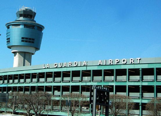 LaGuardia Airport, NY.