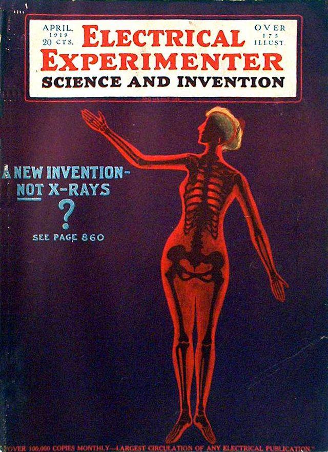 Electrical Experimenter, travanj 1919.