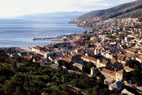 Senj today, view from the fortress of Nehaj (photo by Mladen Zubrinic)