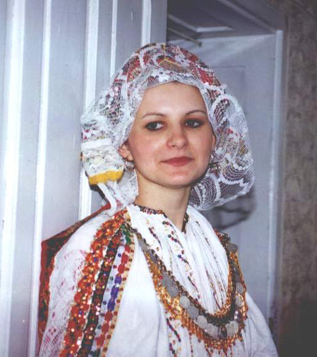 natioanl costumes from Draz, Baranja near Danube