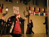 Dance from Croatian south (International Folklore Festival in Zagreb)