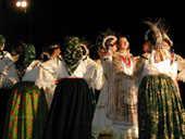 National costumes from Croatian north