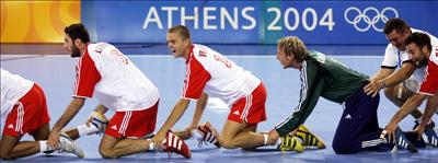 Olympic champions in handball