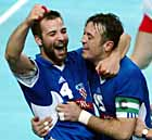 Ivano Balic and Slavko Goluza, 2003 world champions