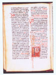 Croatian glagolitic breviary, 15th century, Nat. lib. Ljubljana, Ms 163, 262 folia of vellum, 30 x 21.3 cm