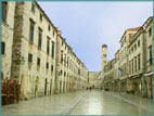 Stradun, the main street (photo by G. Prakash)