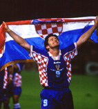Davor Suker, member of Croatian representation, Coup du Monde, France, 1998